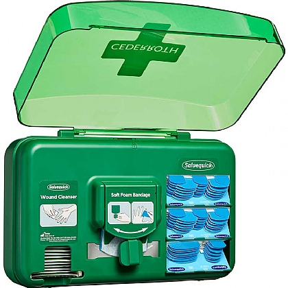 Cederroth Blue Wound Care Dispenser